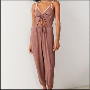 UO Out From Under Elsie Cinched Cutout Jumpsuit